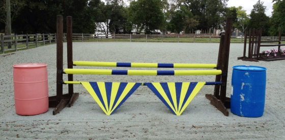 The scary chevron oxer