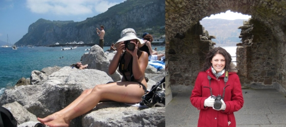 Camera with a passport: Capri, Italy in 2008 and Loch Ness, Scotland 2013
