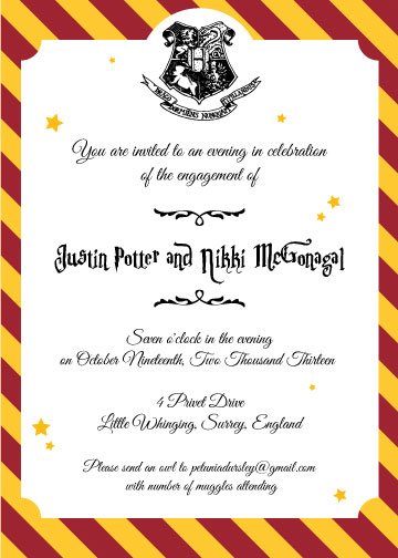 party invite templates word