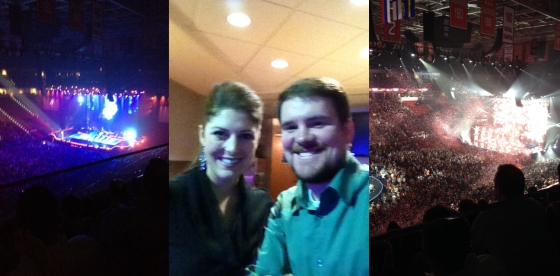 Buble, Box Seats, and Big finales- oh my!