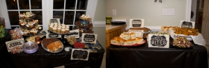 Some of the food served! Ron Weasley eat your heart out!