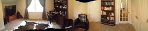 Study AKA Man Cave AKA Temporary Guest Room