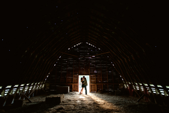 Another photo from our engagement shoot at the barn... oldest wood barn in NC!