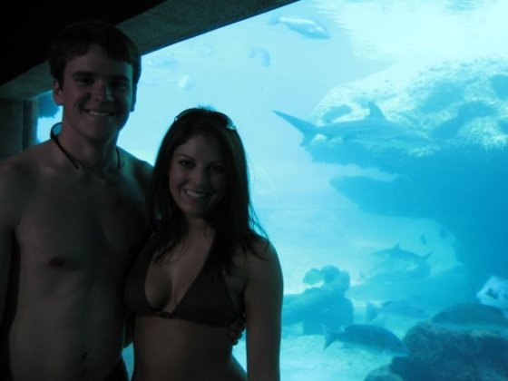 Hanging out at Atlantis on that fateful cruise!
