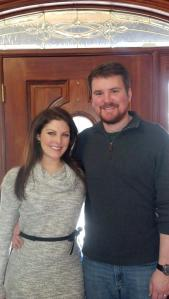 Hubs and I at Thanksgiving!