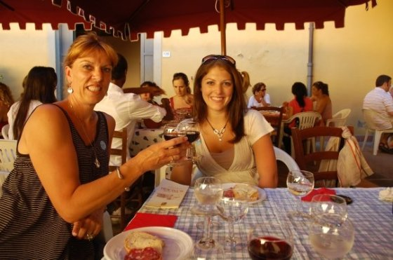 Happy times in Italy