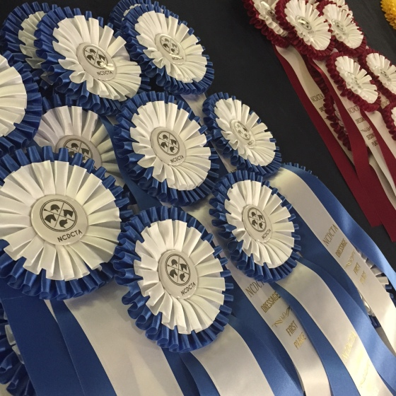 New NCDCTA ribbons, aka logo swag