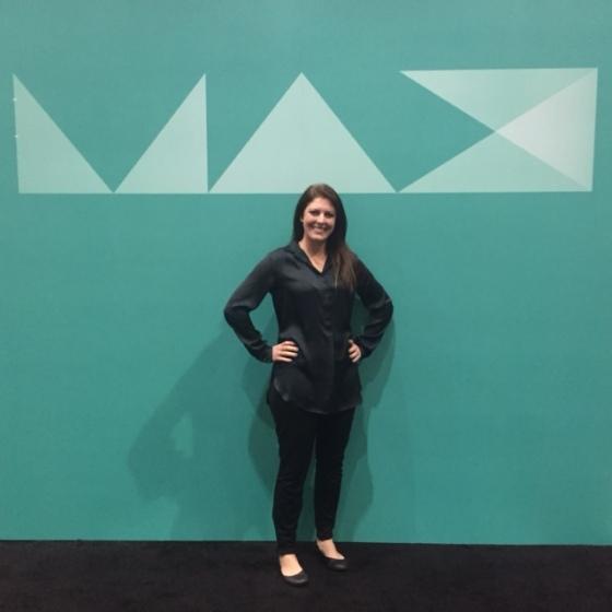 At Adobe MAX!