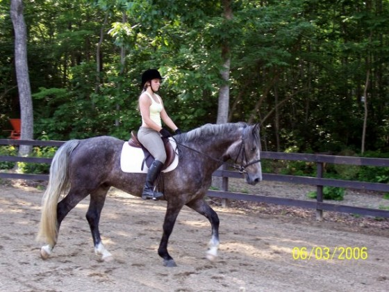 My first real ride on Ivan, during which I became entirely twitterpated.
