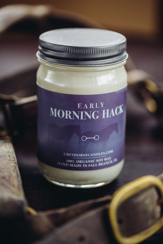 A peaceful scent for the trail riders out there